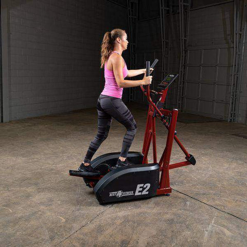Image of Best Fitness BFE2 Center Drive Elliptical Trainer - FitnessGearUSA.Com
