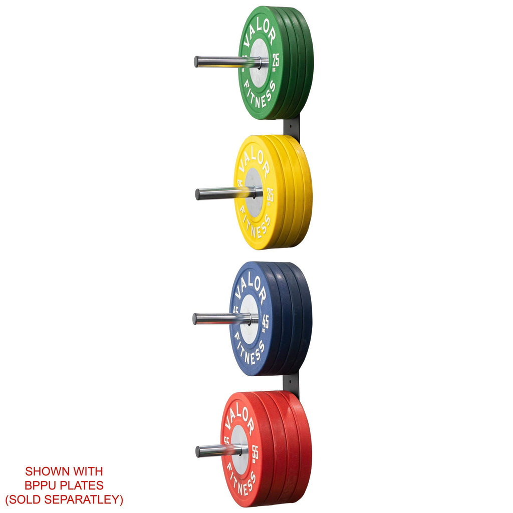 Peg Wall Mounted Bumper Plate Storage Fitnessgearusa Com