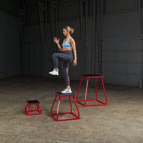 Image of Set 6-42 PLYO BOX SET - Fitness Gear