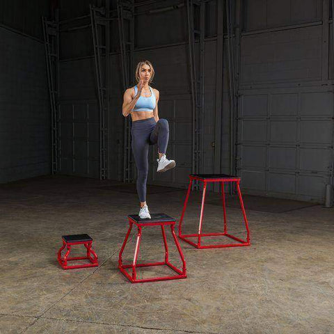 Set 12-24 PLYO BOX SET - 3 boxes included - Fitness Gear