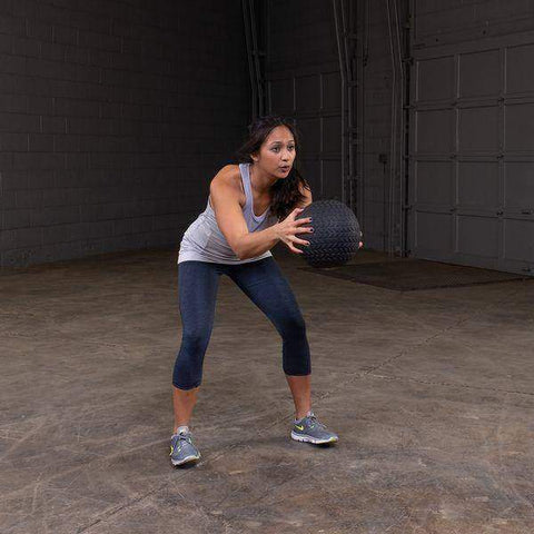 Image of Premium Tire Tread Slam Ball, 10lb - FitnessGearUSA.Com