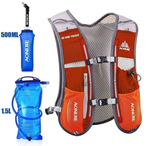 Image of AONIJIE 1.5L Bag   500ml Kettle Running Backpack Outdoor Hydration Vest Pack - FitnessGearUSA.Com