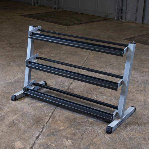 "Image of 48"" 3-Tier Dumbbell Rack - Fitness Gear"