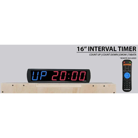 Image of Synergee Programmable Interval Gym Timer - Fitness Gear