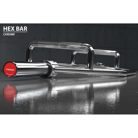 Image of Synergee Hex Trap Bar - FitnessGearUSA.Com