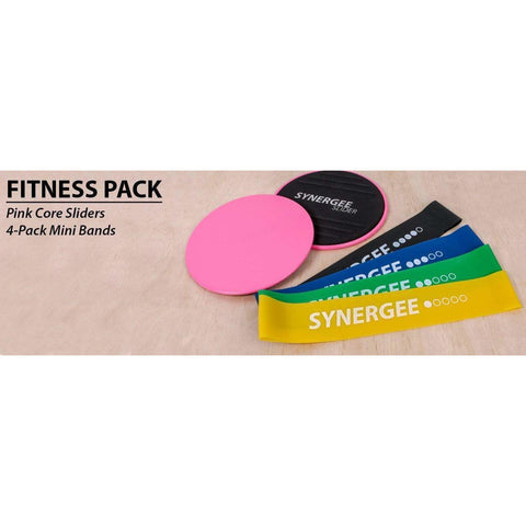Image of Synergee Core Sliders with Mini Bands - Fitness Gear