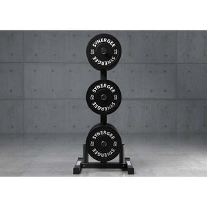 Olympic Weight Plate & Barbell Holder - Fitness Gear