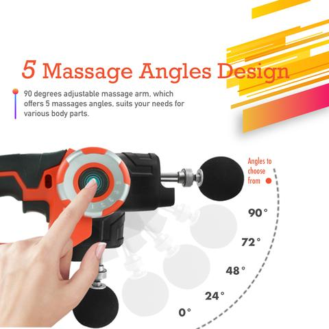 Pleno M2.1 Massage Gun-Handheld Deep Tissue Therapy Massager - Fitness Gear