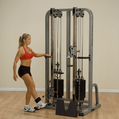Image of Dual Cable Columns - FitnessGearUSA.Com