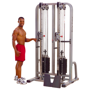 Dual Cable Columns - FitnessGearUSA.Com