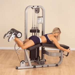 Leg Curl Machine with 310lb Weight Stack - Fitness Gear