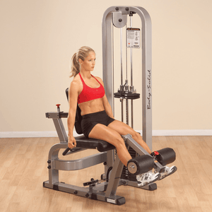 Leg Extension Machine with 210lb Weight Stack - Fitness Gear