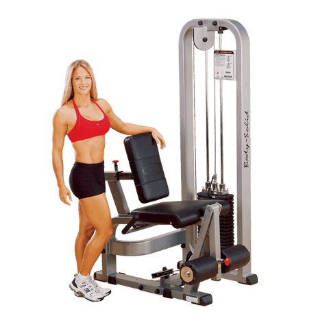 Image of Leg Extension Machine with 210lb Weight Stack - Fitness Gear