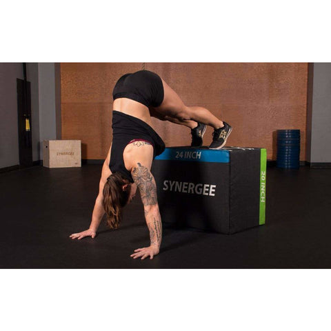 Soft Plyo Boxes - Fitness Gear
