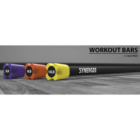 Image of Weighted Workout Bars - Fitness Gear