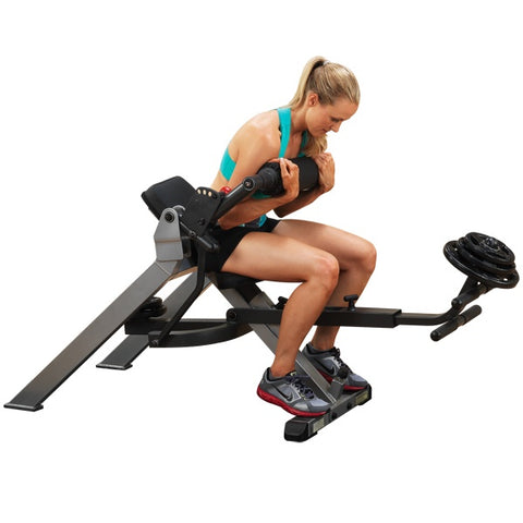 Image of Abs - Semi-Recumbent Dual Ab Bench