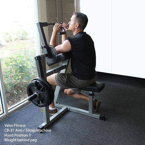 Image of Valor Fitness CB-31 Arm / Tricep Machine - Fitness Gear