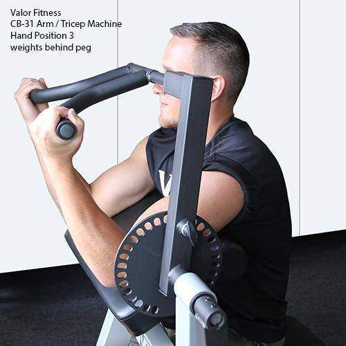 Valor Fitness CB-31 Arm / Tricep Machine - Fitness Gear