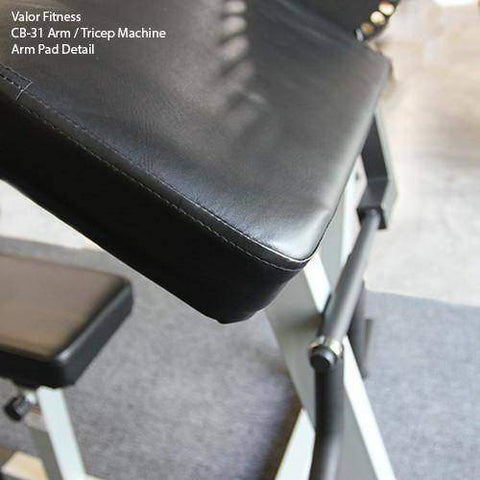 Image of Valor Fitness CB-31 Arm / Tricep Machine - FitnessGearUSA.Com