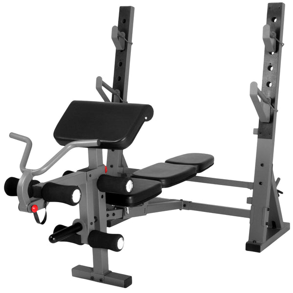 Buy Xmark International Olympic Weight Bench With Leg And