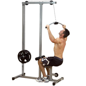Powerline Lat Machine With Row - Fitness Gear