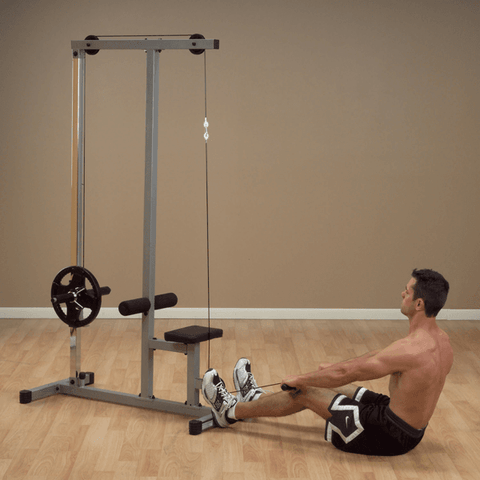 Image of Powerline Lat Machine With Row - Fitness Gear