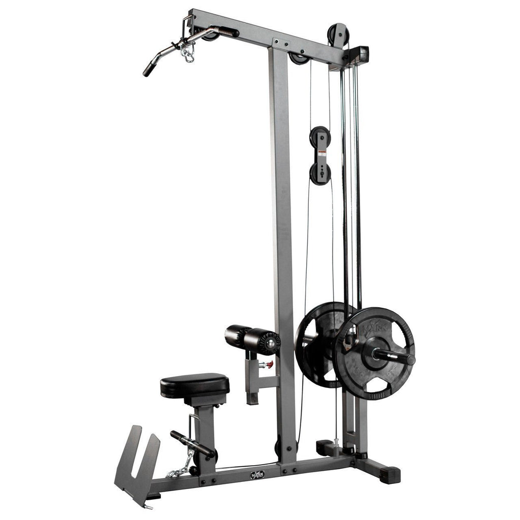 Back - XMark Lat Pulldown And Low Row Cable Machine XM-7618
