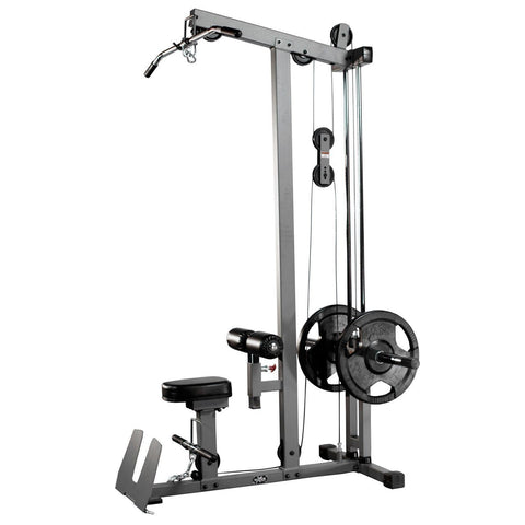 Image of XMark Lat Pulldown and Low Row Cable Machine XM-7618 - Fitness Gear