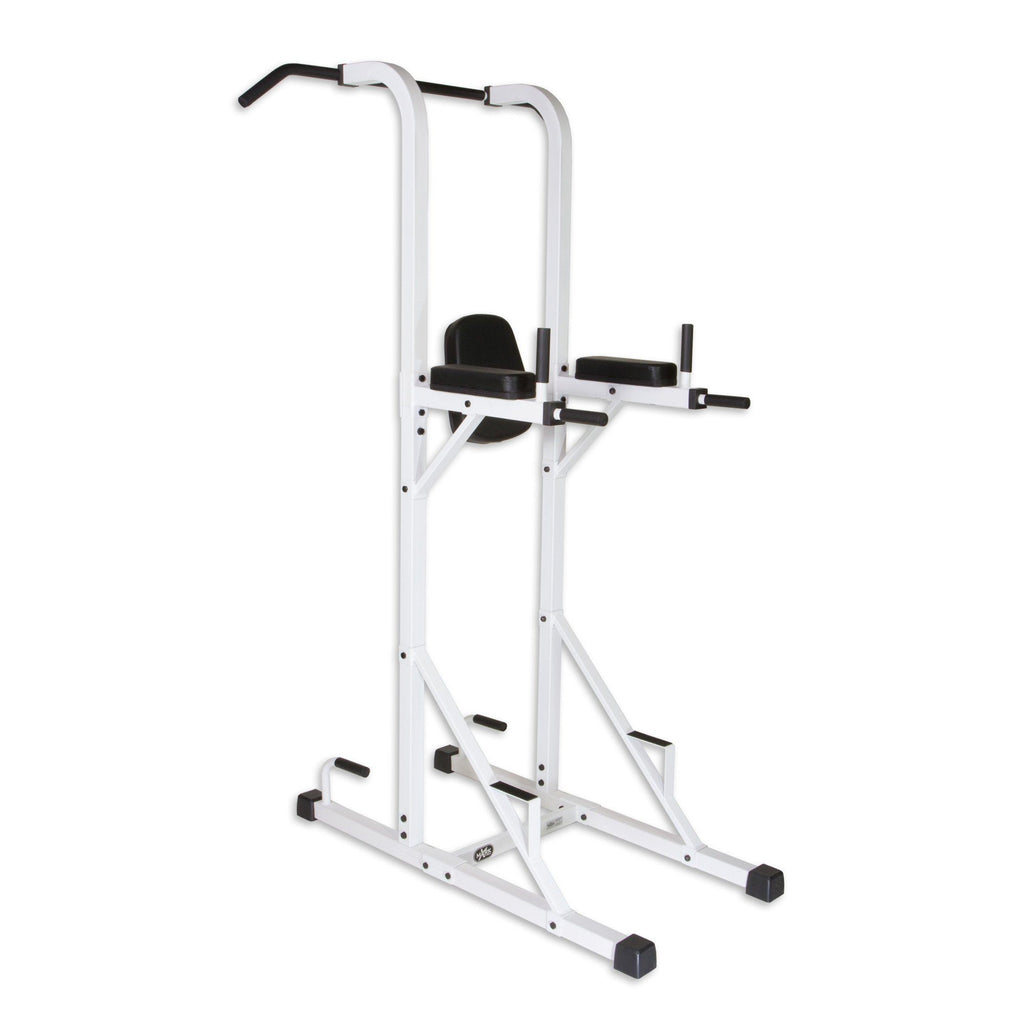 Back - XMark Power Tower With Dip Stand And Pull-Up Chin-up Bar XM-4446