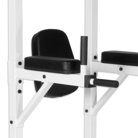 Image of Back - XMark Power Tower With Dip Stand And Pull-Up Chin-up Bar XM-4446