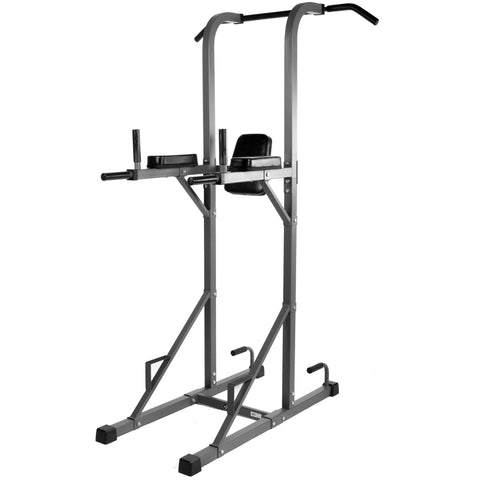 Image of Back - XMark Power Tower With Dip Station And Pull Up Bar XM-4434