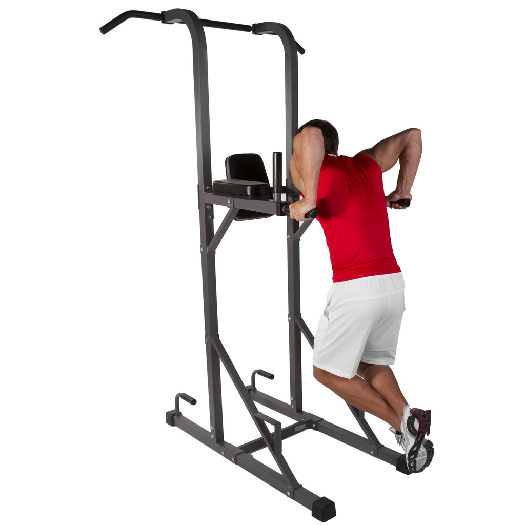 Back - XMark Power Tower With Dip Station And Pull Up Bar XM-4434