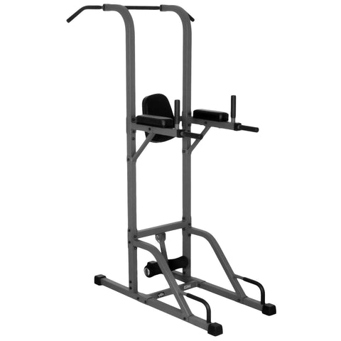 Image of XMark VKR Vertical Knee Raise with Dip and Pull-up Station Power Tower XM-4432 - Fitness Gear