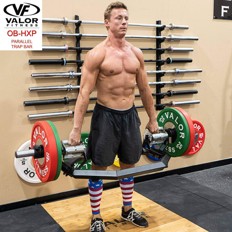 Image of OB-HXP Parallel Trap Bar - Fitness Gear