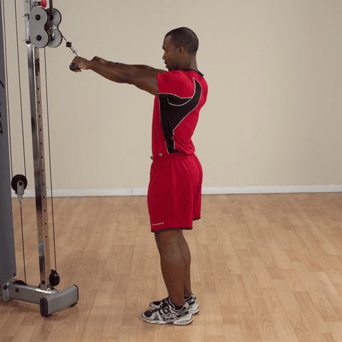 Image of Revolving Solid Straight Bar - Fitness Gear
