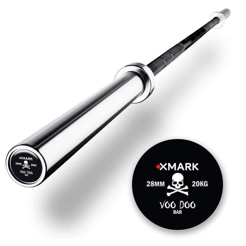 Image of Barbells - XMARK FITNESS COMMERCIAL 7' OLYMPIC BAR - VOODOO BAR