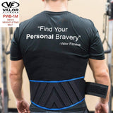 Valor PWB-1M-XXL Xtra Xtra Large Power Weightlifting Belt Mens - Fitness Gear