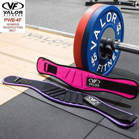 Image of Valor PWB-4F-M Medium Power Weightlifting Belt Ladies - Fitness Gear