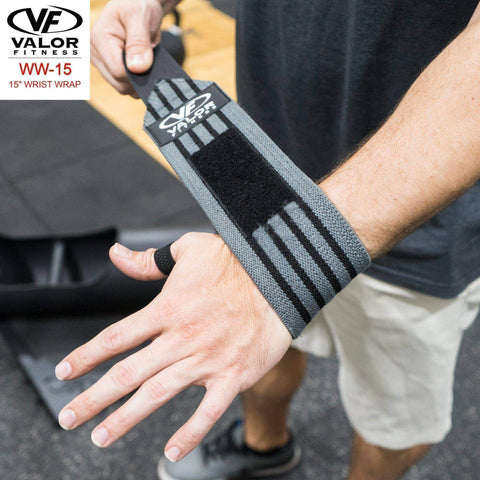 "Image of Valor WW-15 15"" Wrist Wraps - Fitness Gear"
