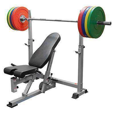 BF-52 Olympic Bench w/ Dual Positions - Fitness Gear
