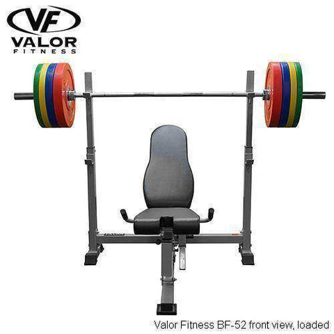 Image of BF-52 Olympic Bench w/ Dual Positions - Fitness Gear