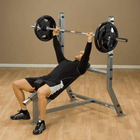 Image of Deluxe Flat/Incline Bench - Fitness Gear
