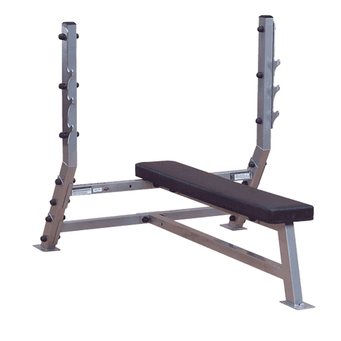 Deluxe Flat Olympic Bench - Fitness Gear