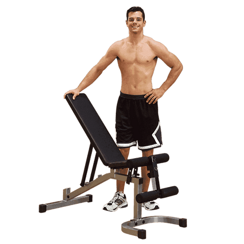 Flat/Incline/Decline Utility Bench - Fitness Gear