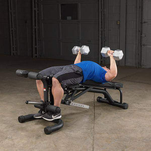 Olympic leverage Flat Incline Decline FID BENCH - Fitness Gear