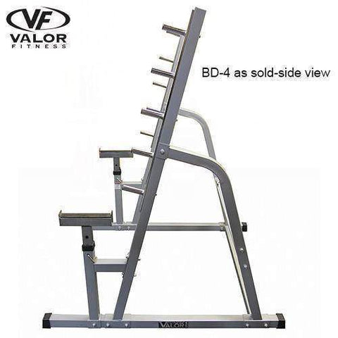 Image of Valor Fitness BD-4 Safety Squat/Bench Combo Rack - Fitness Gear