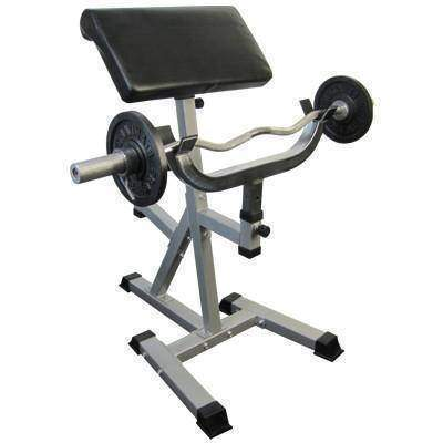 Image of Valor Fitness CB-11 Standing Arm Curl w/Pivot Arm Pad - Fitness Gear