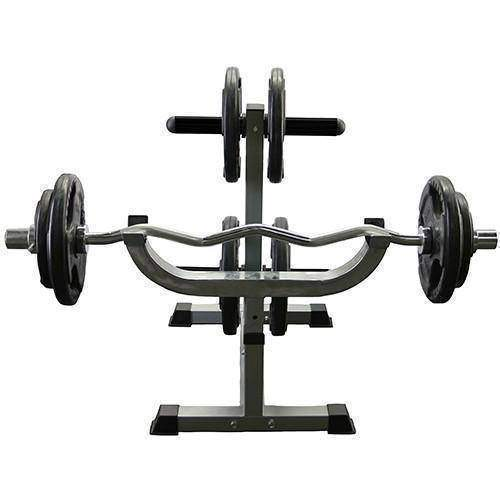 Valor Fitness CB-7 Curl Station Rack - Fitness Gear