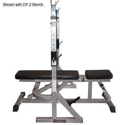 Valor Fitness Combo Squat Bench Rack - Fitness Gear