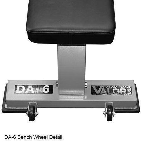 Image of Valor Fitness DA-6 Flat Bench Pro - Fitness Gear
